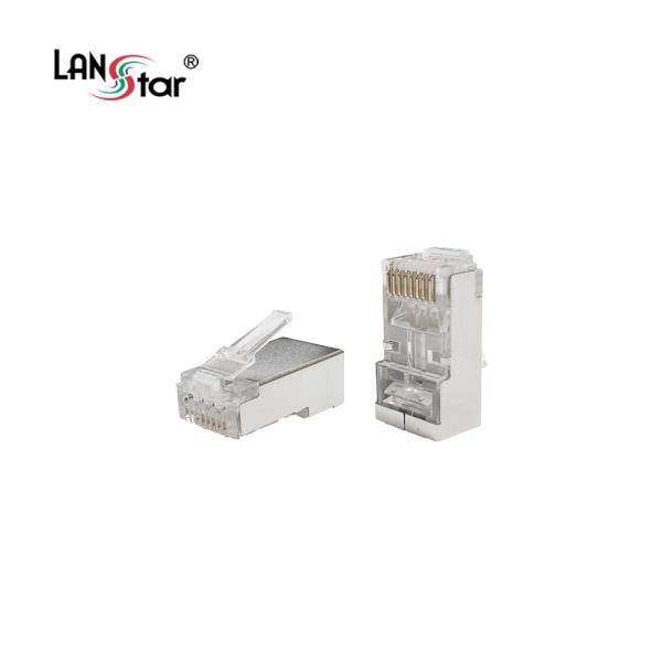 랜스타 EZ플러그, CAT.7 STP [100개/박스] [LS-PASS-7STP]