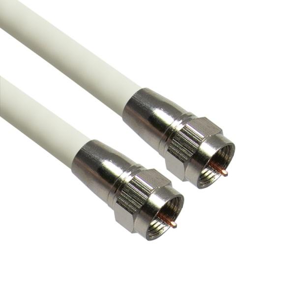 마하링크 국산 안테나 TV 동축 케이블 [2M/화이트] [MLZ-WRF020]