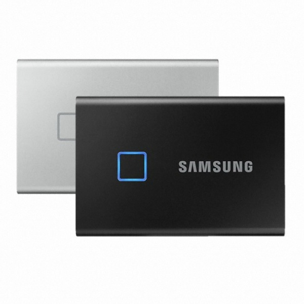 외장SSD, 포터블 T7 Touch [USB3.2 Gen2] [2TB/실버]