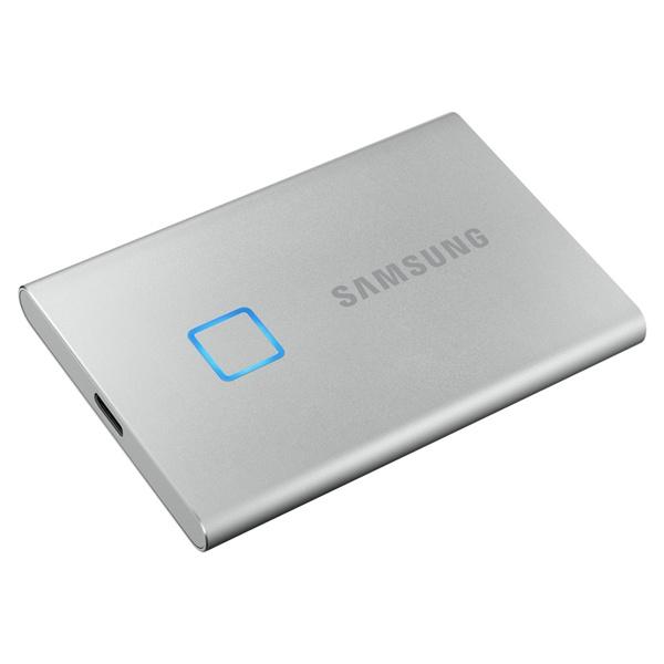 외장SSD, 포터블 T7 Touch [USB3.2 Gen2] [500GB/실버]