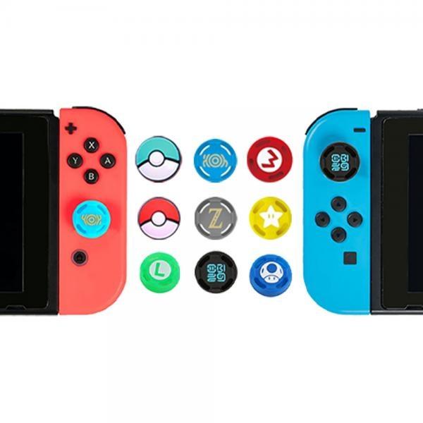 닌텐도 스위치 조이콘 / 프로컨 캐릭터 스틱커버 제품선택 조이콘 몬스터볼 스틱커버 2(P)