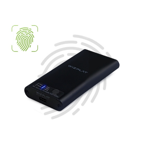외장SSD, S2Bio 지문인식 포터블 SSD [블랙/512G]
