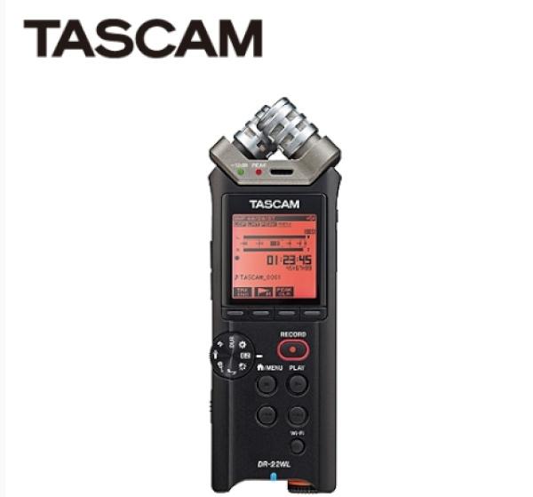 타스캠 DR-22WL WI-FI 리니어 PCM 레코더