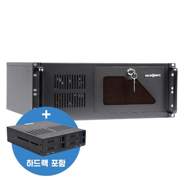 QUANTA HMR-445SE + 하드랙 패키지 (랙마운트/4U)