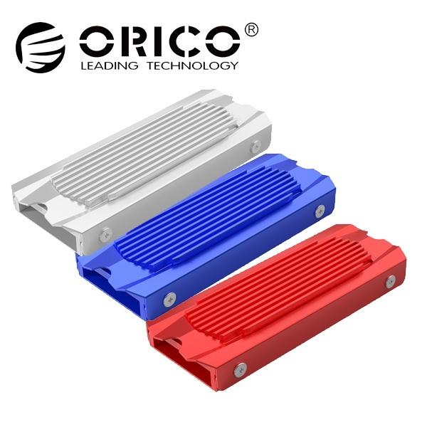 오리코 M2SRB M.2 SSD 방열판 [2280 전용/써멀패드 내장] 레드