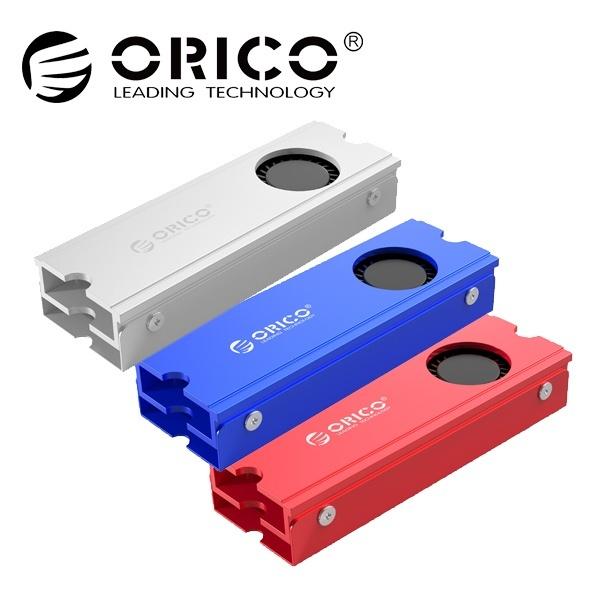 오리코 M2SRC M.2 SSD 쿨럭 방열판 [2280 전용/써멀패드 내장] 블루
