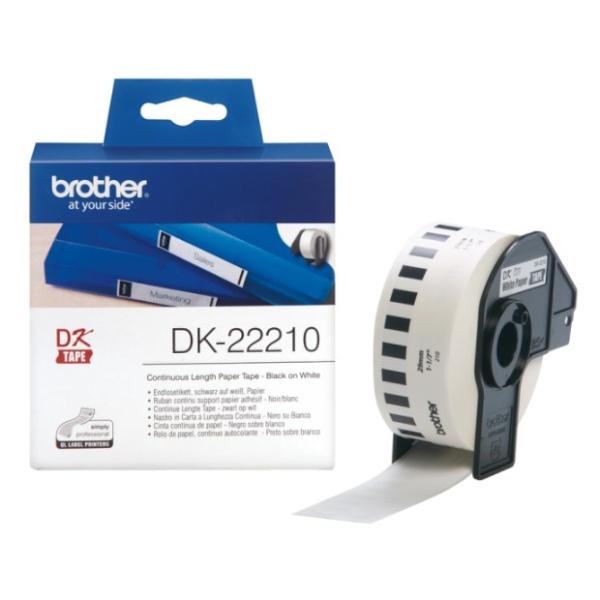 DK-22210 라벨테이프 바탕(흰색) 29mmx30.48M
