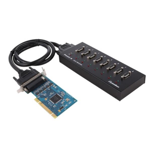 시스템베이스 [Multi-8/LPCI RS232] [카드+패널]