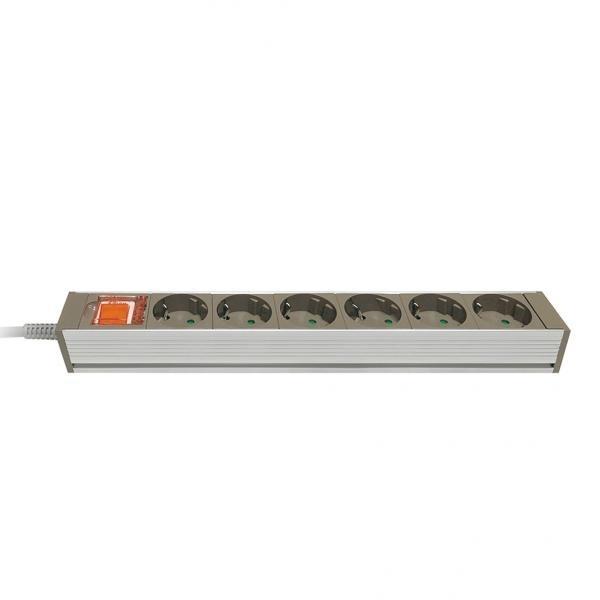자동소화 멀티탭 메인 과부하차단 [6구/16A/메인] [3M]