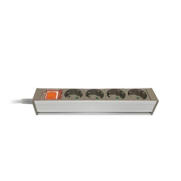 자동소화 멀티탭 메인 과부하차단 [4구/16A/메인] [3M]