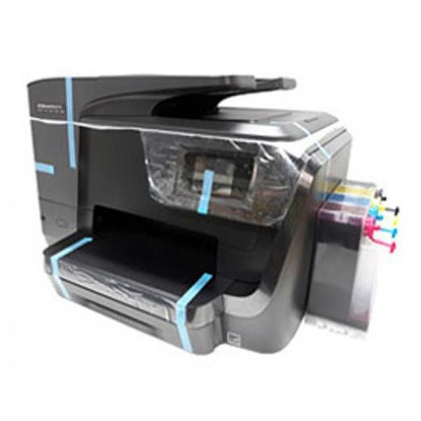[HP(병행)] HP Officejet Pro 8710 복합기 (병행수입) + 휘슬러 무칩 무한공급기 [500ml]