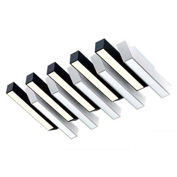 [(주)비스코엘이디조명] 비스코 럭셔리 건반 LED거실 LG칩 [10등/180W]