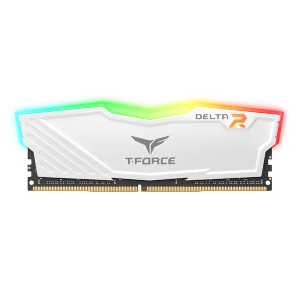 T-Force DDR4 8G PC4-21300 CL16 Delta RGB 화이트 서린