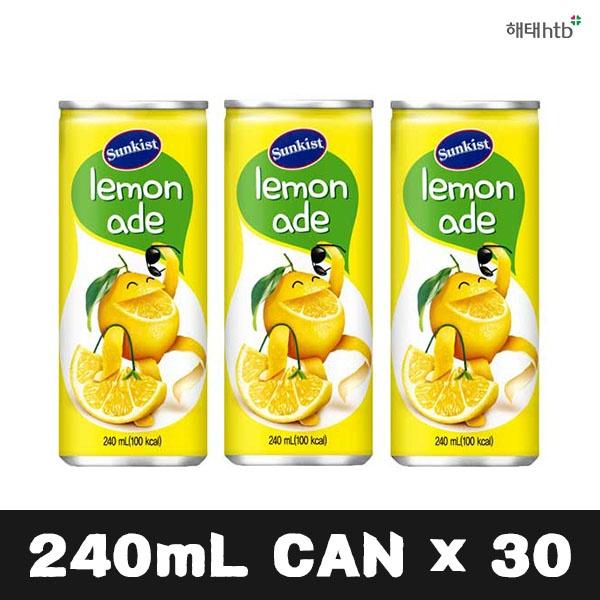 썬키스트 레몬에이드 [240ml] [30개]