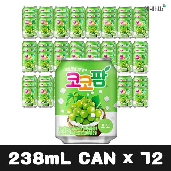 코코팜 포도 238ml [제품선택] 72개