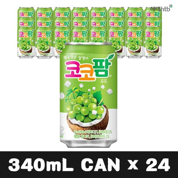 코코팜 포도 340ml x 24개