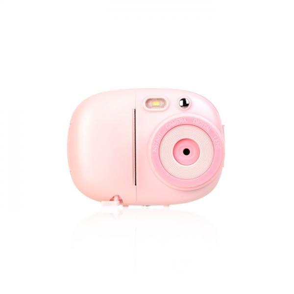 감열지 디지털 즉석카메라 - 핑크 (사진, 동영상, 포토프린터)