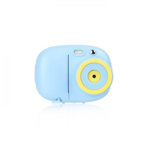 감열지 디지털 즉석카메라 - 블루 (사진, 동영상, 포토프린터)