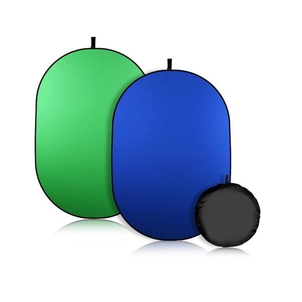 원터치 접이식 대형 배경판 / 그린 블루(양면) 크로마키 / 2m X 1.5m