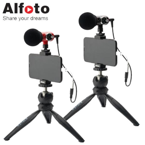 올포토 카메라 스마트폰용 마이크 Q-Mic Kit