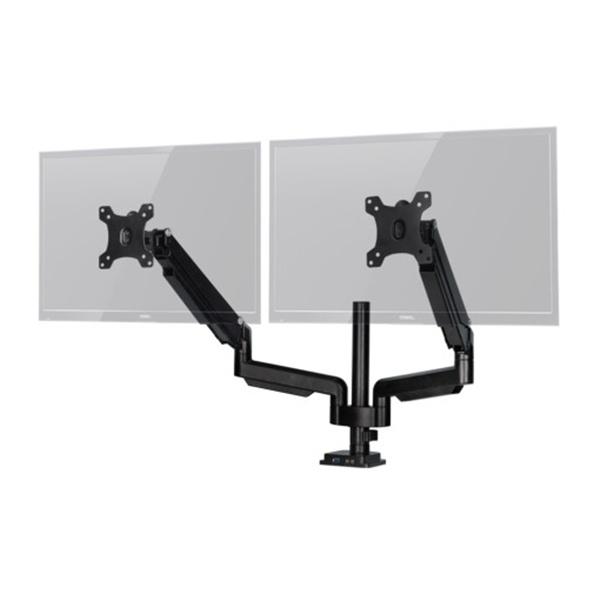 클램프형 듀얼 암, CMA-2DP [블랙] [32형]