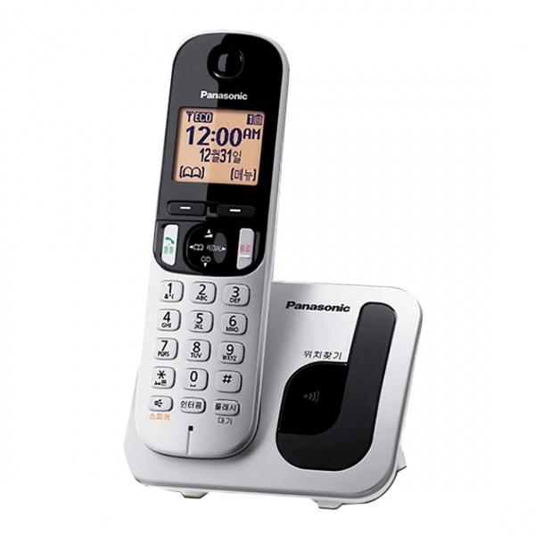 KX-TGC210 발신자 표시 CID 무선 전화기