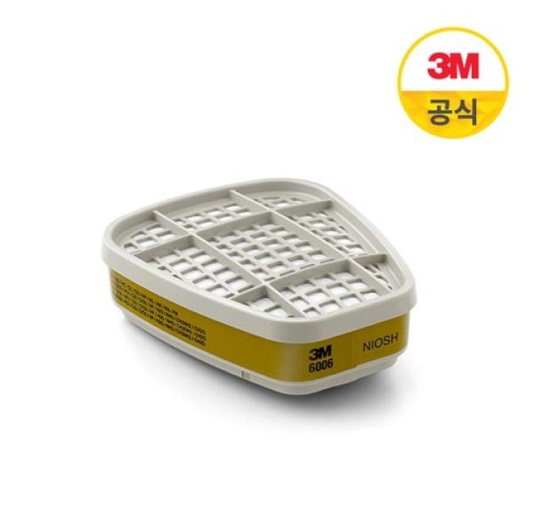 쓰리엠 방독 정화통 6006K (1조=2EA)