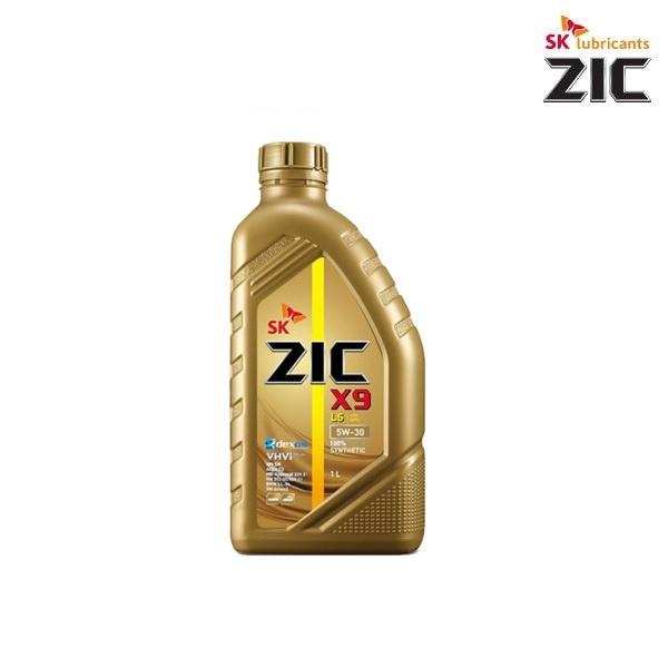 지크 X9 LS [엔진오일/차량용/가솔린/디젤/LPG/5W30/1L]