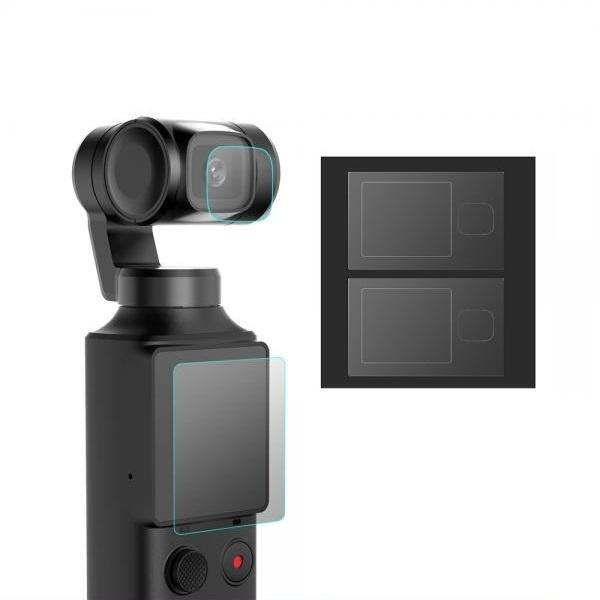 샤오미 피미 팜 미니 짐벌 카메라용 액정 렌즈 보호 필름 4장 2세트