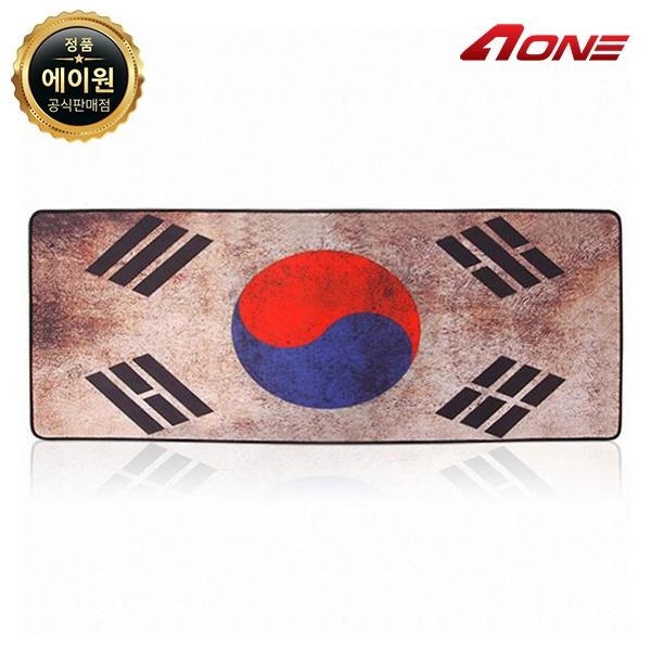장패드, CRUISE GP-785 빈티지 국기 [한국-블랙라인]