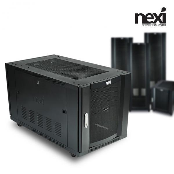 넥시 서버랙 NX-SH590 [NX918][블랙]