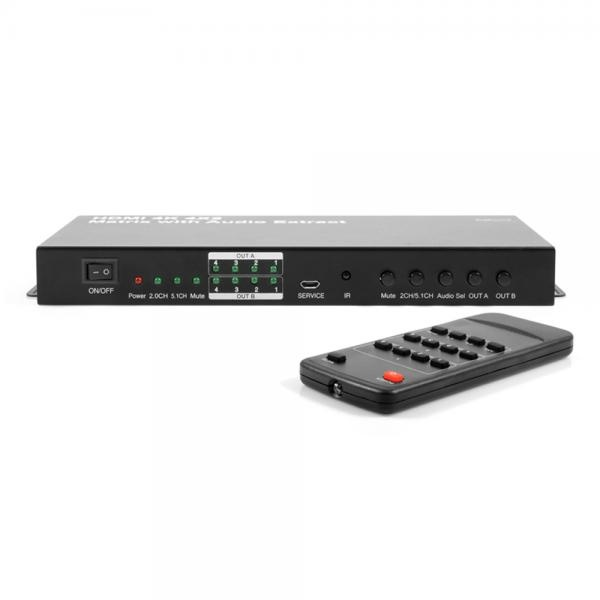 이지넷 NEXT-2405UHD-4K [매트릭스 분배기/4:4:4/HDMI/오디오 지원]