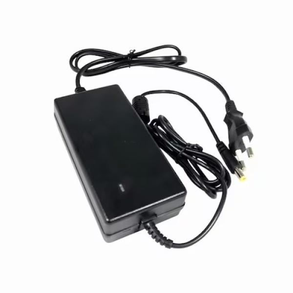 아답터, 220V / 12V 5A [내경2.5mm/5.5mm] HT-AD02C 전원 케이블 일체형 [비닐포장]