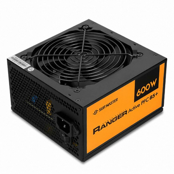 SUITMASTER RANGER 600W BLACK Active PFC 85+ 벌크 (ATX/600W)