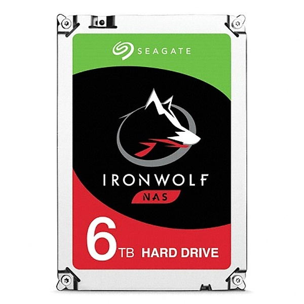 IRONWOLF HDD 6TB ST6000VN001 (3.5HDD/ SATA3/ 7200rpm/ 256MB/ PMR)