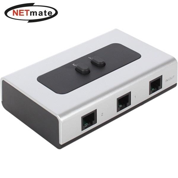 NETmate NM-UJS21 [수동선택기/2:1][벽걸이형]