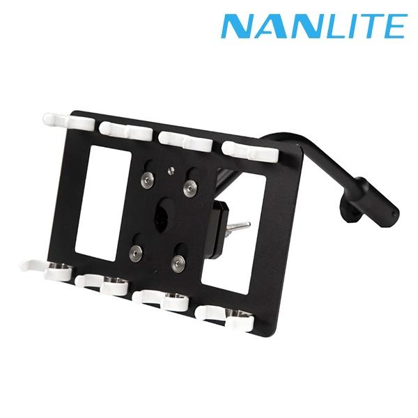 [NANLITE ] 파보튜브 T12 쿼드 구즈넥 마운트