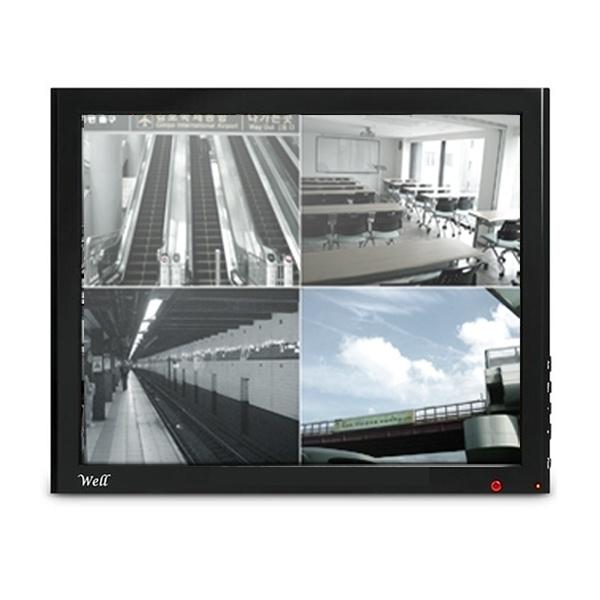 비엠텍씨앤씨 WELL 172LED 350 CCTV 강화유리