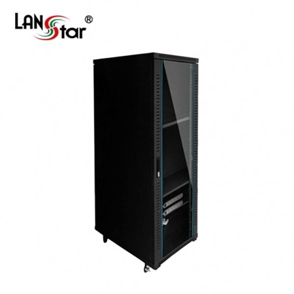 랜스타 허브랙, 블랙 LS-1800HB [38U]
