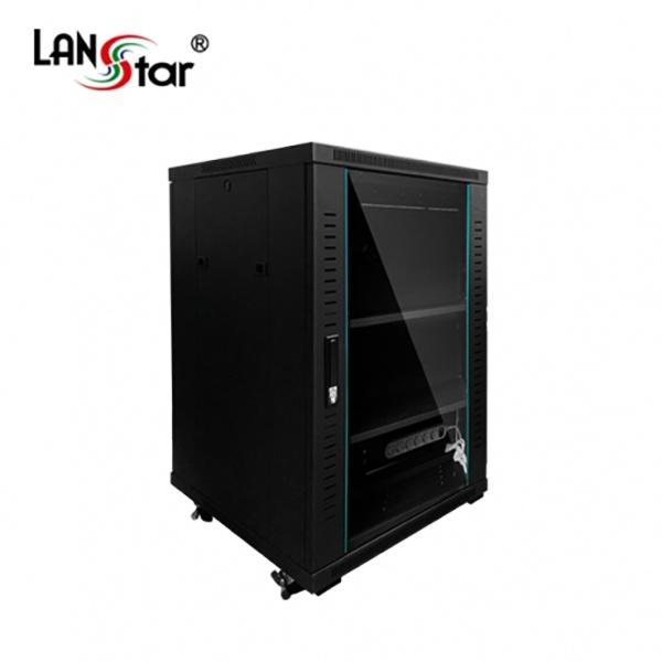 랜스타 허브랙, 블랙 LS-1000HB [18U]
