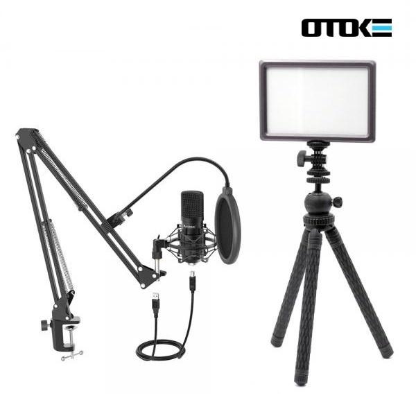 유튜브 PC마이크 룩스패드 방송세트 유튜브방송 온라인 수업 강의