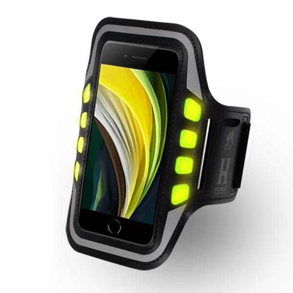 아이폰 SE2 LED 라이트 고급 스포츠 암밴드