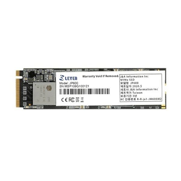 JP600 series M.2 NVMe 2280 256GB TLC