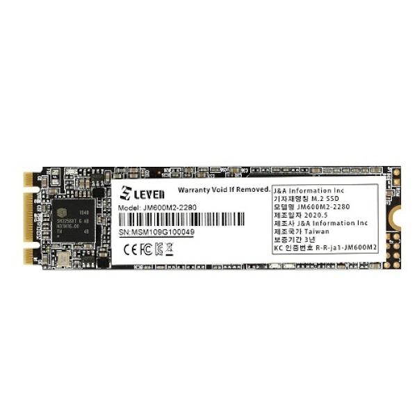 JM600 series M.2 2280 256GB TLC