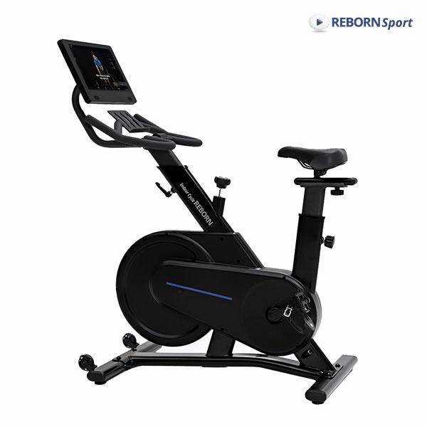 [리본스포츠] 리본 스핀바이크  Q200X + 모니터 15.6인치 실내 자전거 운동기구