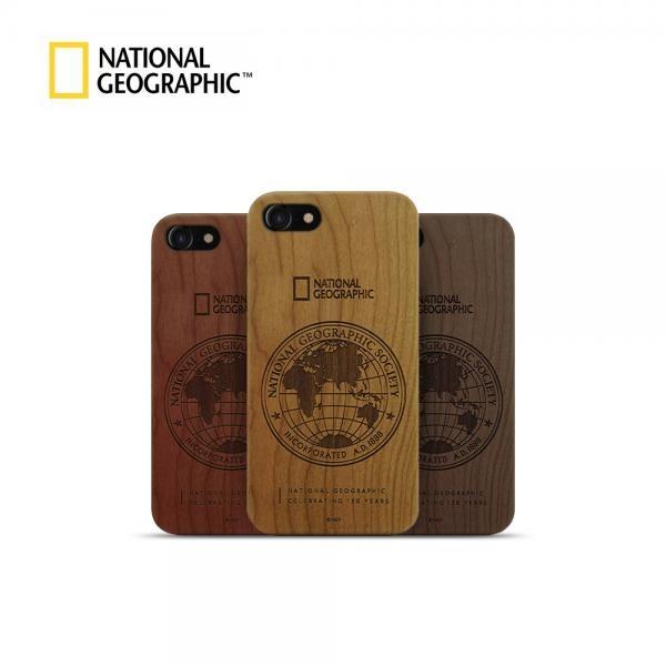 내셔널지오그래픽 글로벌 씰 네이처 우드 케이스 [제품 선택] 아이폰SE 2세대