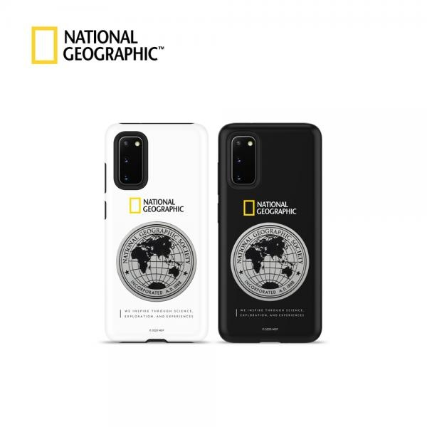 내셔널지오그래픽 메탈 데코 하드쉘 케이스 [제품 선택] 갤럭시S20