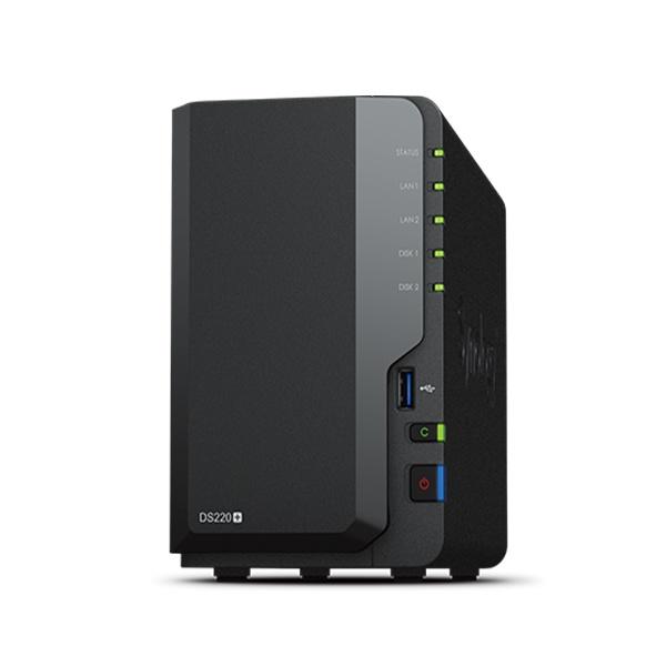 DS220+ (2베이) [에이블] 하드미포함 [하드미포함] ▶[RAID/견적가능]◀