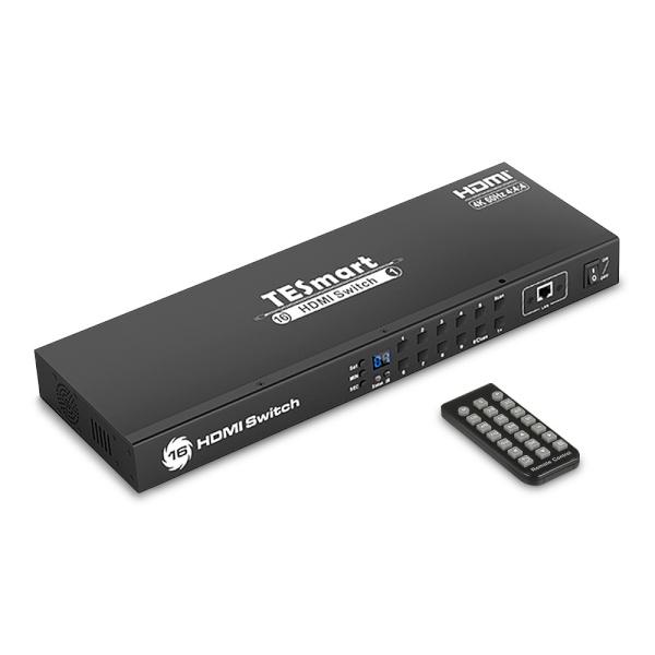 티이스마트 HSW1601A1U [모니터 선택기/16:1/HDMI/4K/오디오 지원]