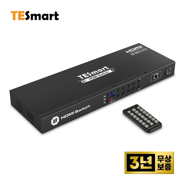 티이스마트 HSW0801A1U [모니터 선택기/8:1/HDMI/4K/오디오 지원]
